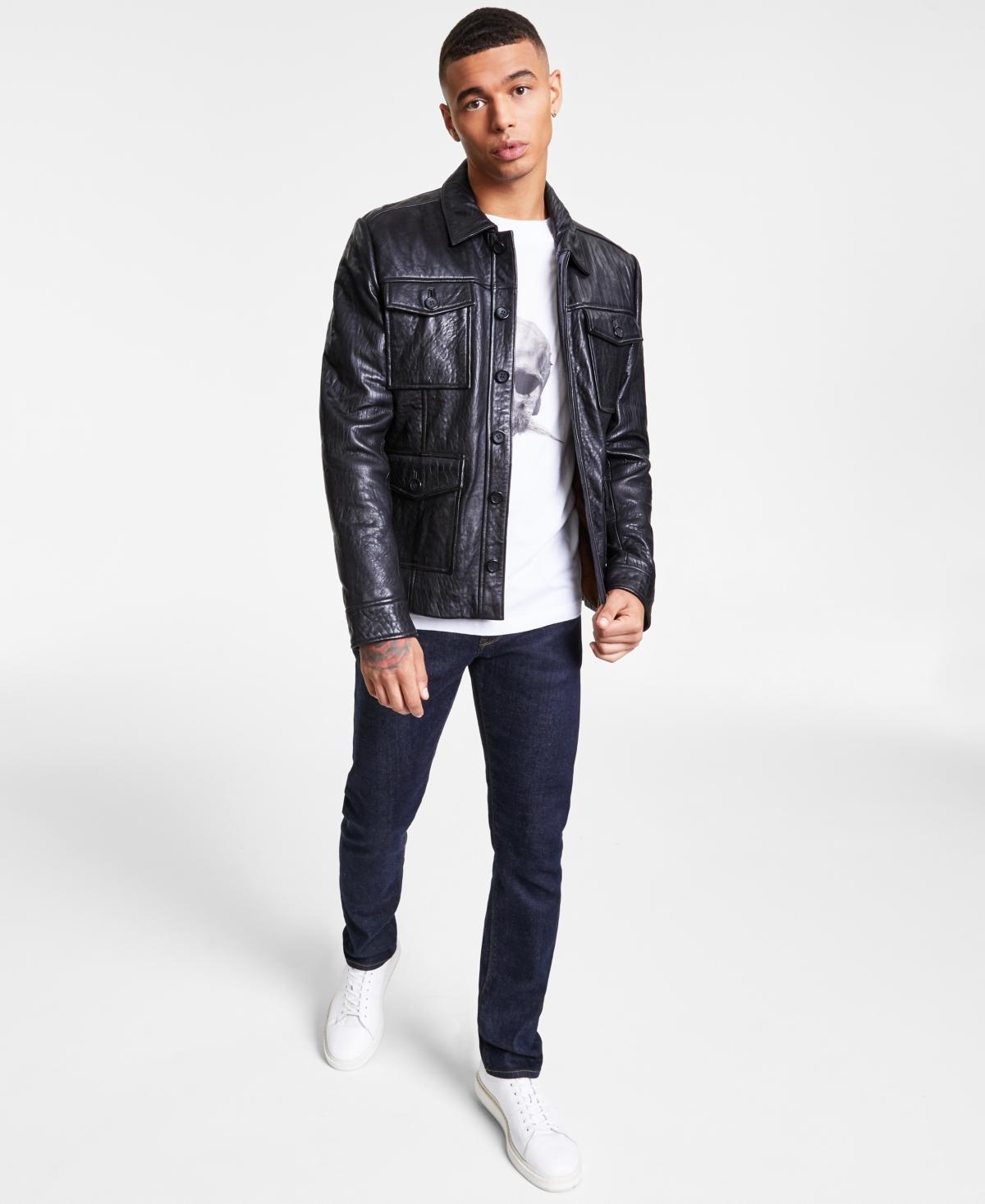 Men's Monroe Leather Jacket