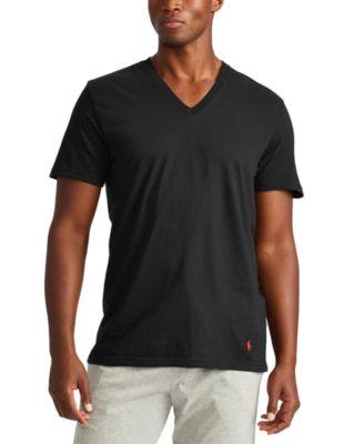폴로 랄프로렌 Polo Ralph Lauren Mens Tall V-Neck T-Shirts - 3-Pack