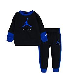 Toddler Boys Jumpman by Nike Crew Sweatshirt and Pants Set