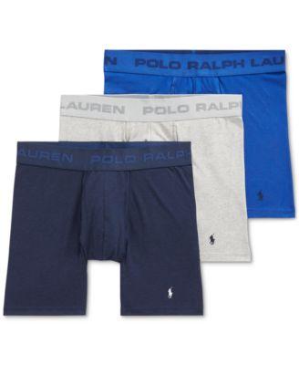 폴로 랄프로렌 Polo Ralph Lauren Mens Friction-Free Pouch Boxer Briefs