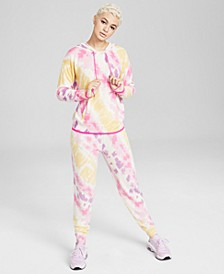 Tie-Dyed Hoodie & Jogger Pants, Created for Macy's