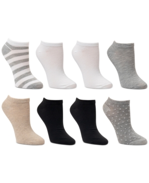 8-Pk. Low-Cut Rugby Striped Socks