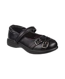 Big Girls Accent School Shoes