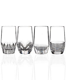 Waterford Set of 4 Mixology Clear Highball Glasses
