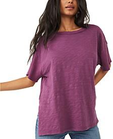 Peace It Up Cotton T-Shirt