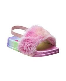 Toddler Girls Rainbow Slides