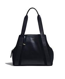 Women's Medium Ziptop Shoulder Bag