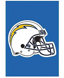 Party Animal Los Angeles Chargers Garden Flag