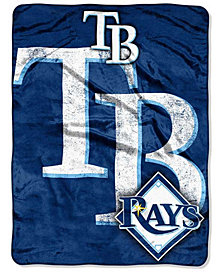 Northwest Company Tampa Bay Rays Micro Raschel Triple Play Blanket