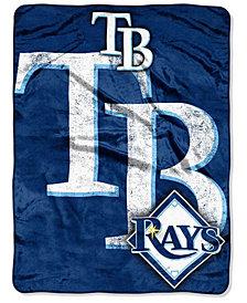 Northwest Company Tampa Bay Rays Micro Raschel Triple Play Blanket