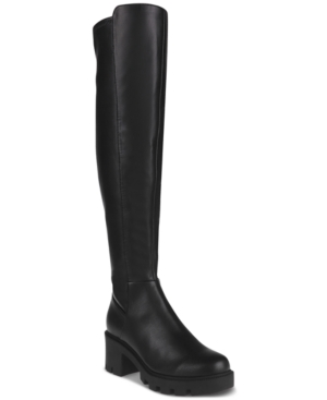 Nicolette Over-The-Knee Lug Boots Women's Shoes
