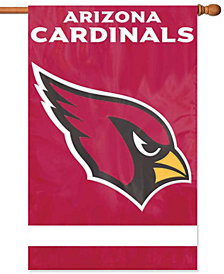 Party Animal Arizona Cardinals Applique House Flag