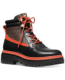 Women's Turner Lace-Up Lug Sole Booties