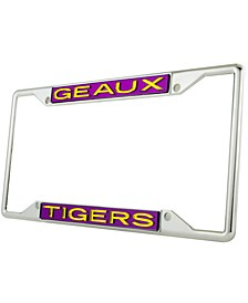 LSU Tigers Laser License Plate Frame