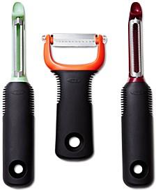 Good Grips 3-Pc. Peeler Set