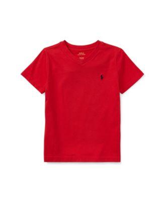 폴로 랄프로렌 남아용 반팔티 Polo Ralph Lauren Toddler Boys Cotton Jersey V-Neck T-Shirt