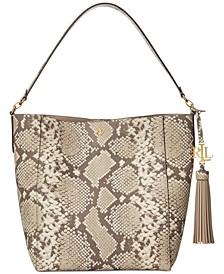 Adley Leather Shoulder Bag
