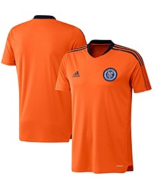 Men's Orange New York City FC 2021 Training Jersey