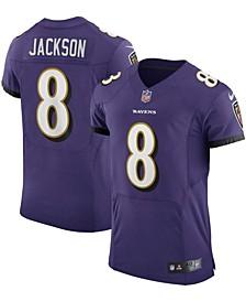 Men's Lamar Jackson Purple Baltimore Ravens Vapor Elite Player Jersey