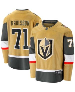 Men's William Karlsson Gold Vegas Golden Knights 2020/21 Alternate Premier Breakaway Player Jersey