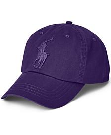 Men's Big Pony Twill Ball Cap