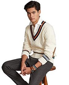 Men's Cotton-Cashmere Cricket Sweater