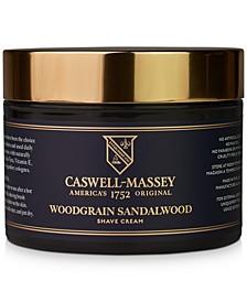 Heritage Woodgrain Sandalwood Shave Cream, 8-oz.