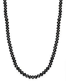 Black Diamond Necklace in 14k White Gold (13 ct. t.w.)
