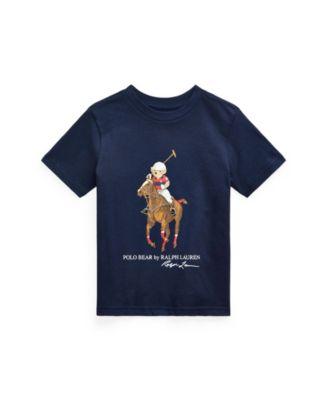 폴로 랄프로렌 남아용 반팔티 Polo Ralph Lauren Toddler Boys Polo Bear Big Pony Cotton Tee