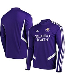 Men's Purple Orlando City SC 2019 Long Sleeve Training Jersey