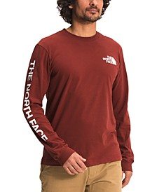 Men's Logo Graphic Long-Sleeve T-Shirt