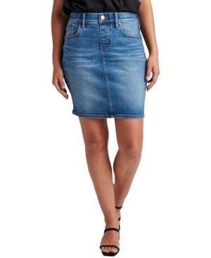 Women's Valentina Pull-On Skirt Jeans