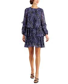 Petite Tiered A-Line Dress