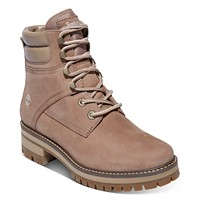 Deals on Timberland Womens Courmayeur Valley Lace-Up Lug Sole Boots