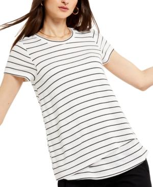Striped Nursing T-Shirt