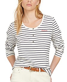 Driftwood Striped Top