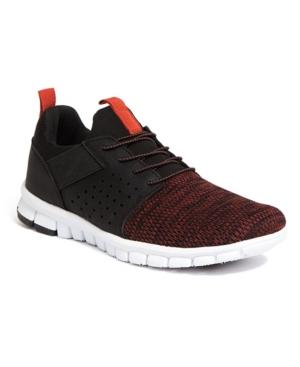 Men's NoSoX Betts Flexible Sole Bungee Lace Slip-On Oxford Hybrid Casual Sneakers Men's Shoes