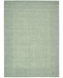 kathy ireland Home Cottage Grove Coastal Village Mist Area Rug