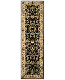 "kathy ireland Home Lumiere Stateroom 2'3"" x 7'9"" Runner Rug"