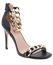 Women's Isinna Chain Detail Dress Sandals