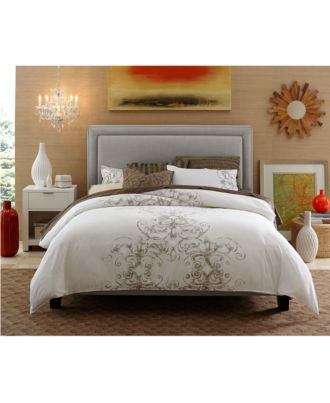 rory upholstered headboard, bed rails  storage kits  furniture, Headboard designs
