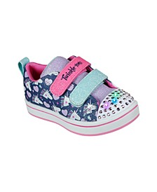 Toddler Girls Twinkle Toes - Sparkle Rayz - Unicorn Heartbeats Sneakers from Finish Line