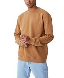 Men's Essential Crew Fleece Sweatshirt