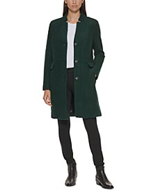 Single-Breasted Bouclé Walker Coat, Created for Macy's