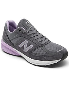 Women's 990 V5 Running Sneakers from Finish Line