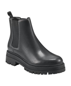 Women's Pietro Lug Sole Slip On Chelsea Booties Women's Shoes