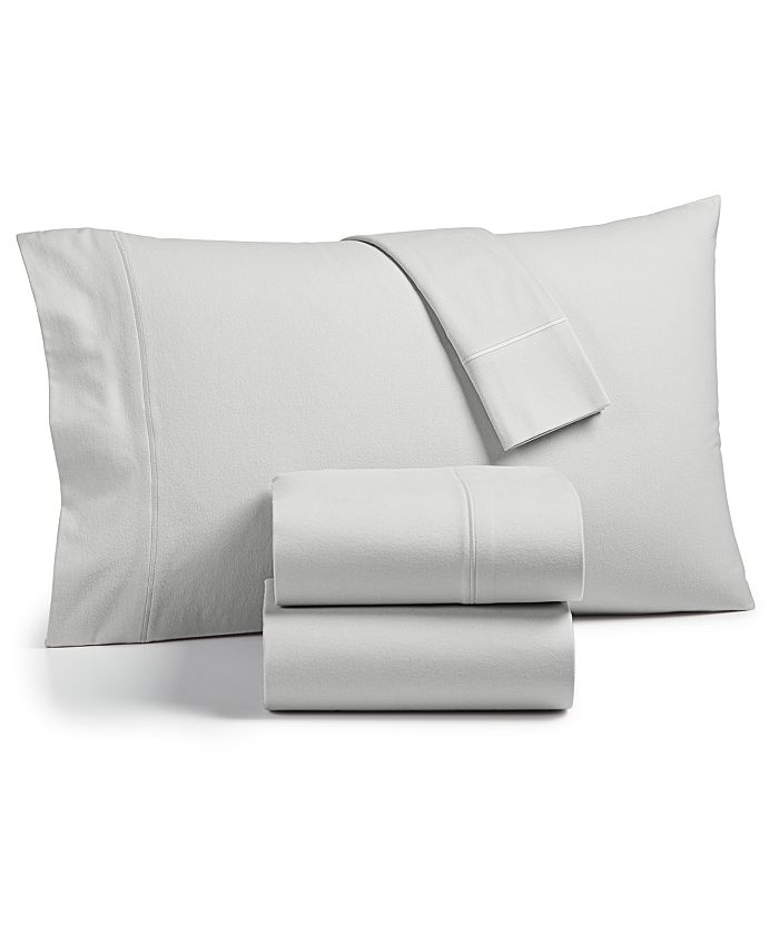 Hotel Collection - Lux Flannel Sheet Set, Created for Macy's