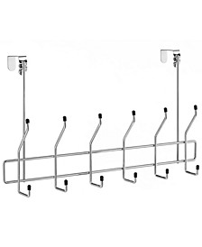 Over the Door Chrome Storage Hooks