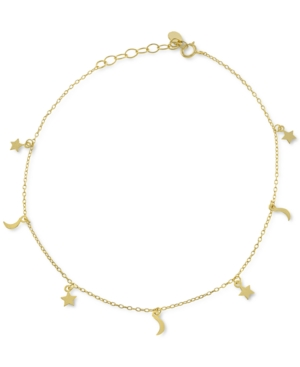 Moon & Stars Ankle Bracelet