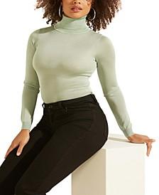 Cathy Metallic Turtleneck Sweater